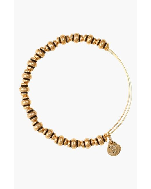 ALEX AND ANI | Metallic 'nile' Expandable Wire Bangle | Lyst