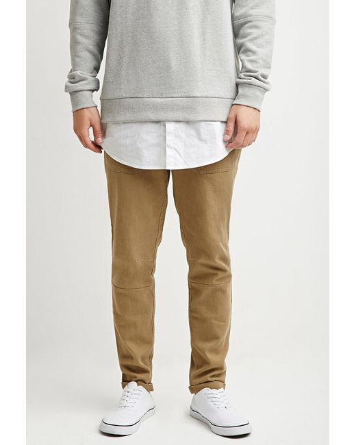 Forever 21 | Natural Paneled Utility Pants for Men | Lyst