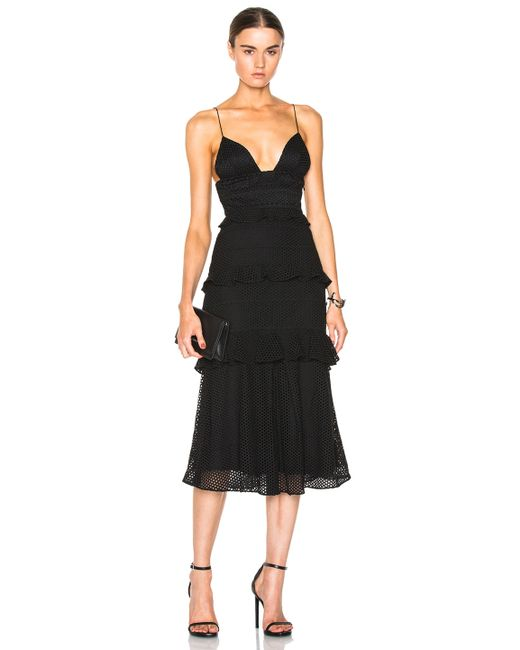 Cushnie et Ochs | Black The Marlena Dress | Lyst