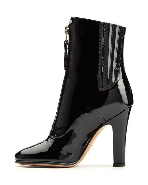 valentino patent leather ankle boots in black lyst