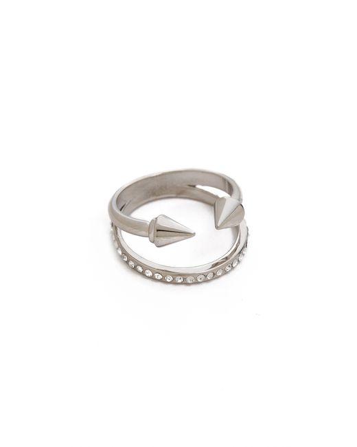 Vita Fede | Metallic Ultra Mini Titan Crystal Band Ring | Lyst