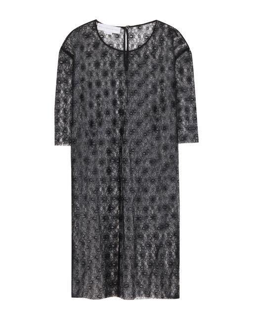 Stella McCartney | Black Jasper Oversized Lace T-shirt | Lyst