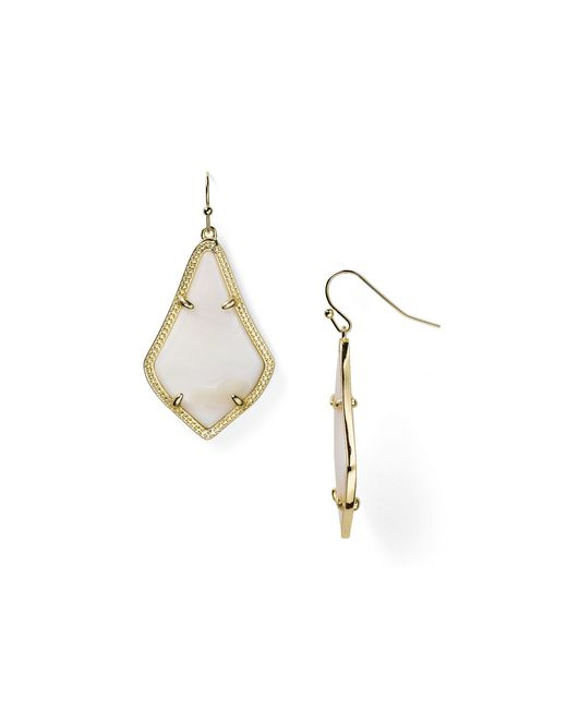 Kendra Scott | Metallic Alex Earrings | Lyst