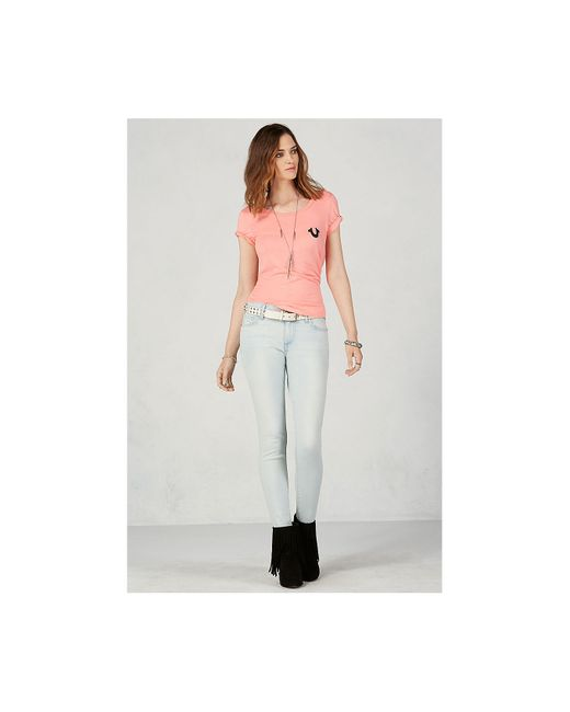 True Religion | Multicolor Halle Super Skinny Womens Jean | Lyst