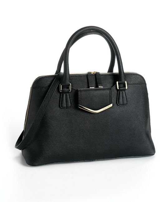 Calvin Klein | Black Signature Reversible Tote With Pouch | Lyst