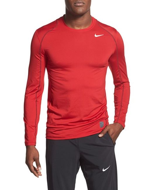 Nike 39 Pro Cool Compression 39 Fitted Long Sleeve Dri Fit T