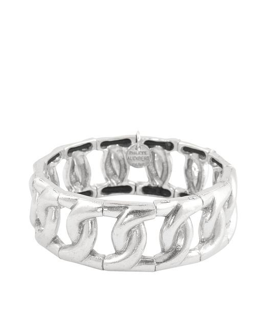 Philippe Audibert | Metallic Stretch Bracelet With Links | Lyst