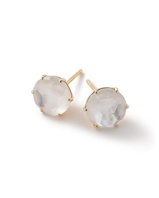 Ippolita | Blue 18k Rock Candy Round Stud Earrings | Lyst