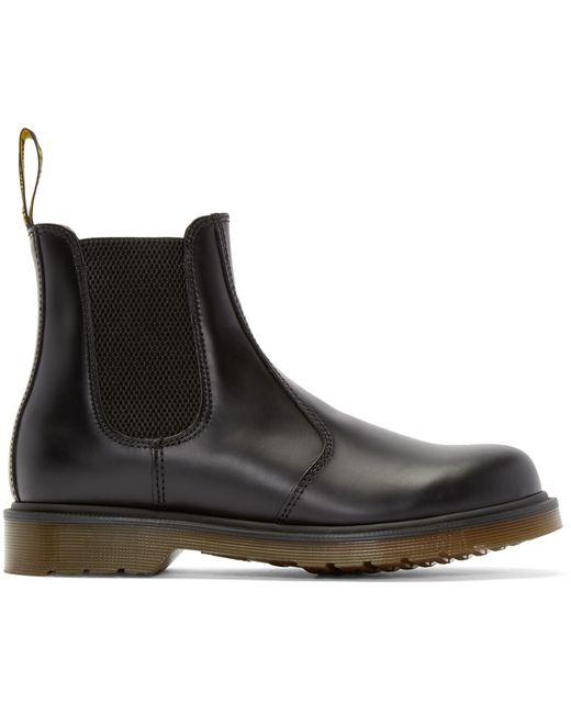 dr martens black 2976 chelsea boots in black for
