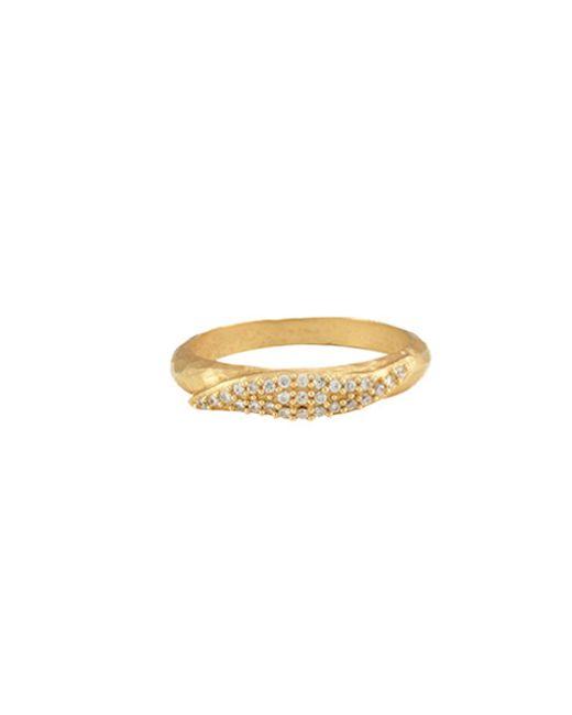 Melinda Maria   Metallic Mattie Ring   Lyst