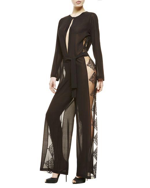 La Perla   Black Jumpsuit   Lyst