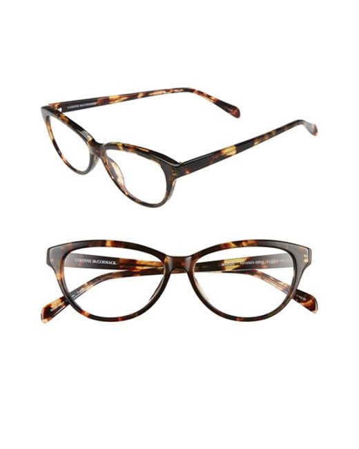 Corinne Mccormack | Brown 'marge' 52mm Reading Glasses | Lyst