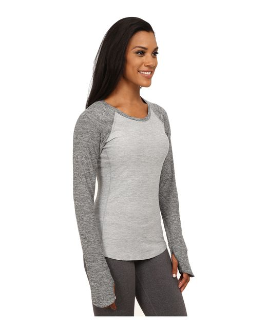 The North Face | Gray Motivation Long Sleeve Top | Lyst
