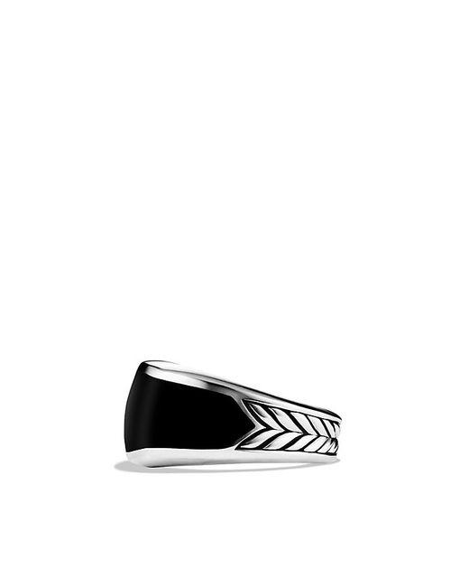 David Yurman   Exotic Stone Narrow Three-sided Ring With Black Onyx for Men   Lyst