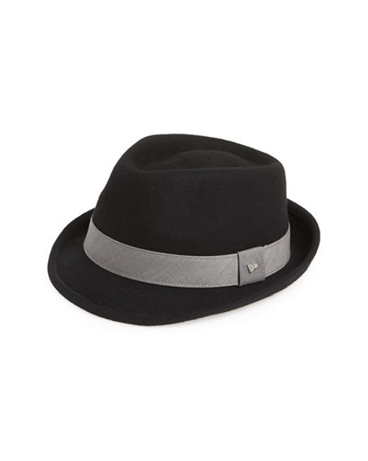 KTZ | Black 'ek Dorsey' Fedora for Men | Lyst