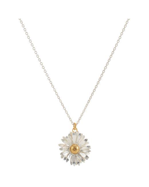 Alex Monroe | Metallic For John Lewis Daisy Pendant Necklace | Lyst