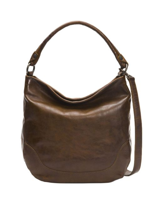 Frye - Brown Melissa Hobo Bag - Lyst