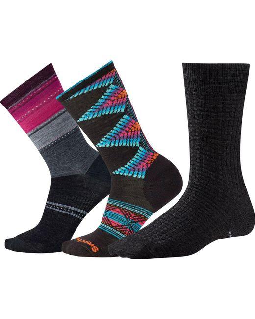Smartwool - Blue Trio 2 Sock - 3-pack for Men - Lyst