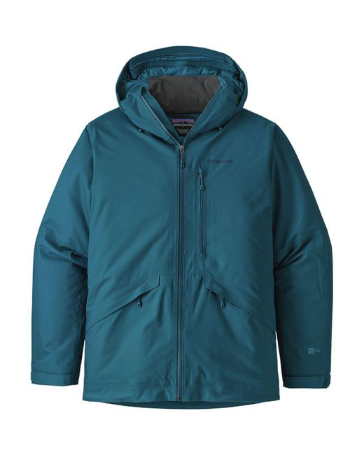 Patagonia Blue Snowshot Insulated Jacket for men