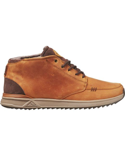 Reef - Brown Rover Mid Wt Chukka Boot for Men - Lyst