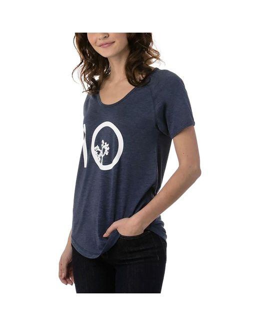 Tentree - Blue Leaf Ten T-shirt - Lyst