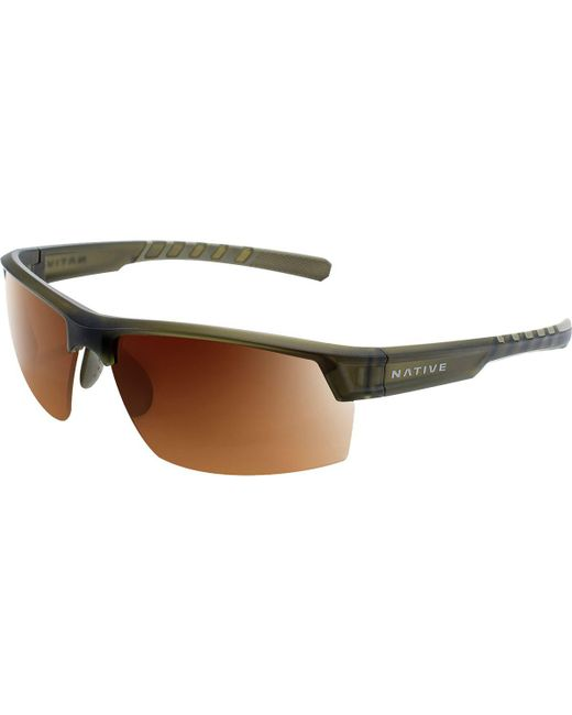 a1f2478a03b Lyst - Native Eyewear Catamount Polarized Sunglasses in Brown for Men