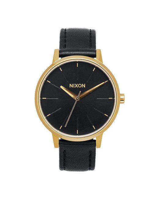 Nixon - Multicolor Kensington Leather Watch - Lyst