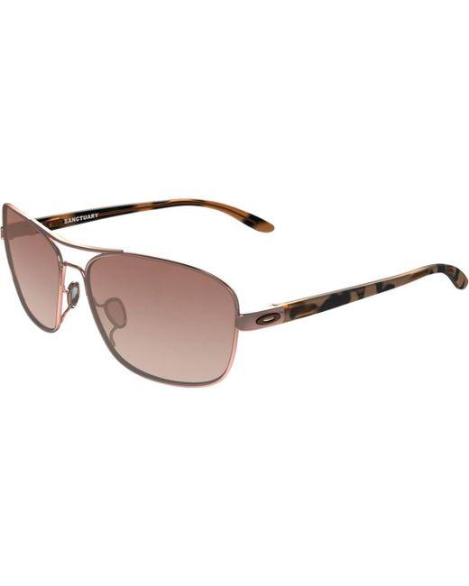Oakley - Brown Sanctuary Sunglasses - Lyst