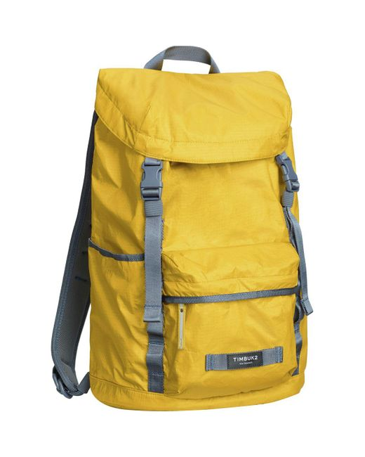 Timbuk2 Yellow Launch 18l Backpack for men