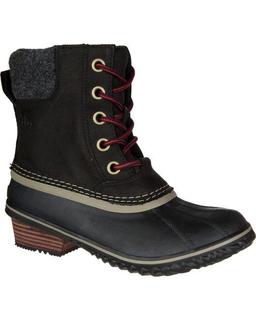 Sorel - Black Slimpack Ii Lace Boot - Lyst