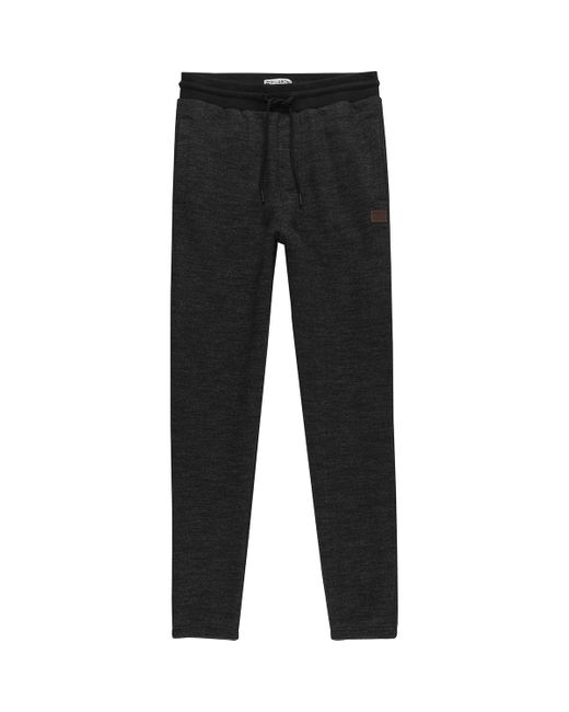 Billabong Cotton Balance Cuffed Sweat Pant In Black For