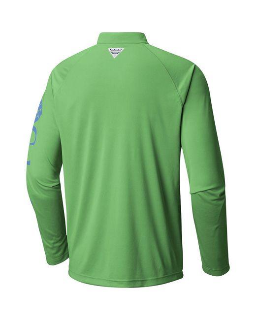 b078b853 ... Columbia - Green Terminal Tackle 1/4-zip Shirt for Men - Lyst