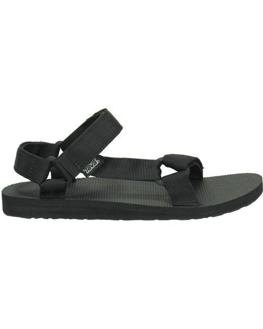 Teva Black Original Universal Sandals for men