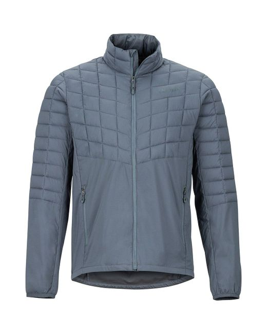 Marmot Blue Featherless Hybrid Insulated Jacket for men