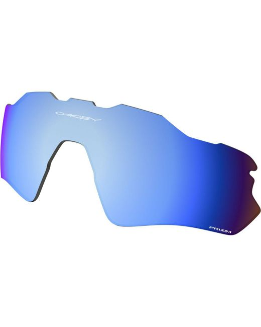 f27e2a8eaa Lyst - Oakley Radar Ev Path Prizm Replacement Lens in Blue for Men
