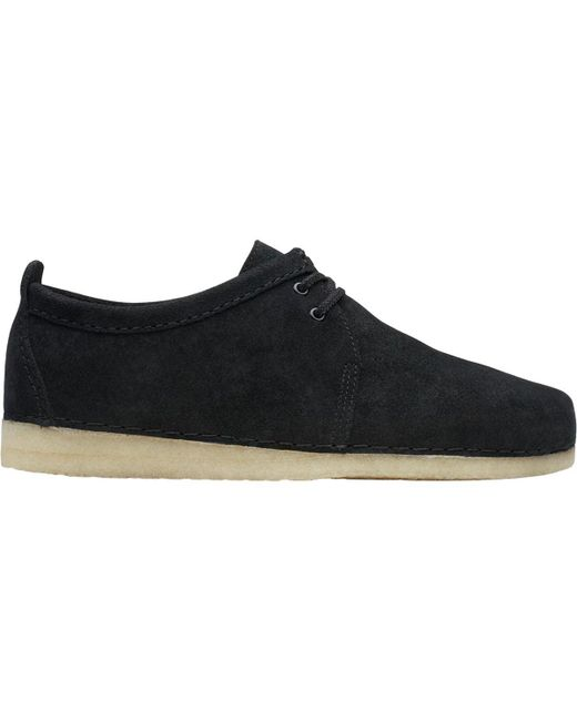 Clarks Black Ashton Shoe for men