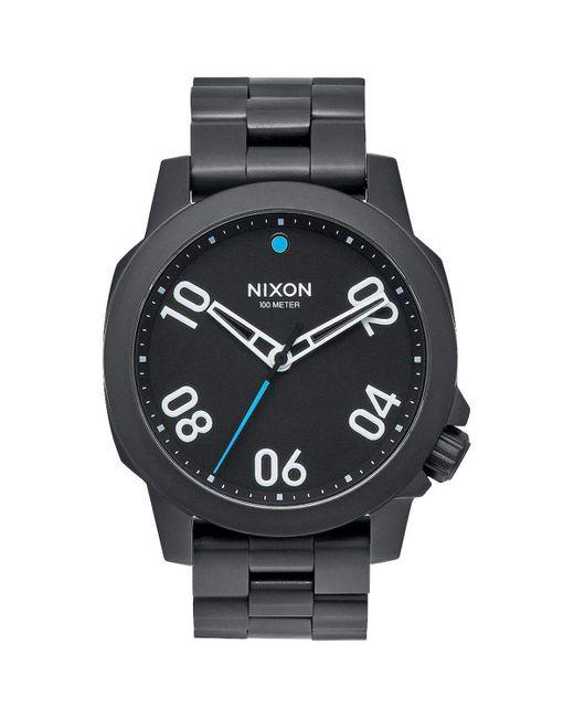 Nixon | Black Ranger 40 Watch for Men | Lyst