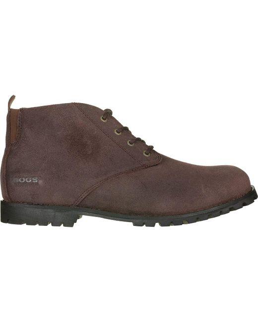 Bogs - Brown Johnny Chukka Ii Boot for Men - Lyst