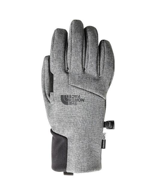 The North Face - Gray Apex Plus Etip Glove for Men - Lyst