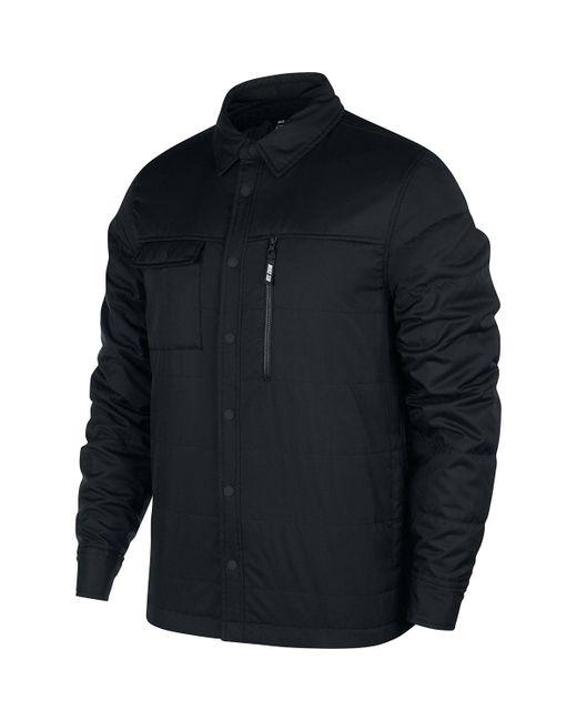 Nike Black Sb Top Ls Holgate Winterized Jacket for men