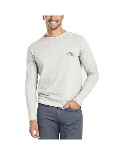 United By Blue | Gray Adventure Mobile Pullover Sweatshirt for Men | Lyst
