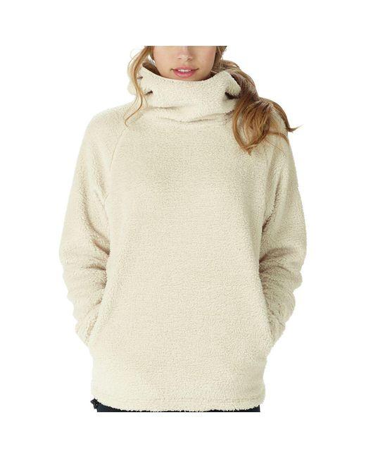 Burton - White Lynx Pullover Fleece Jacket - Lyst