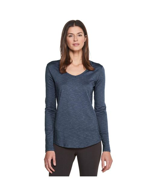 Toad&Co Blue Marley Long-sleeve T-shirt