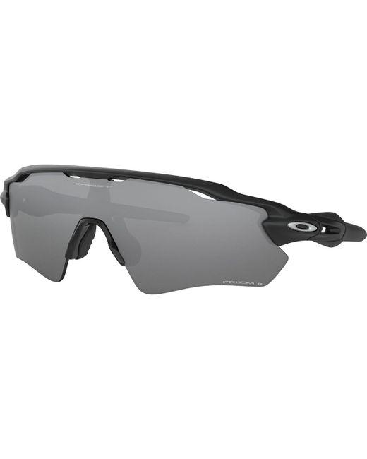 Oakley Black Radar Ev Path Prizm Polarized Sunglasses for men