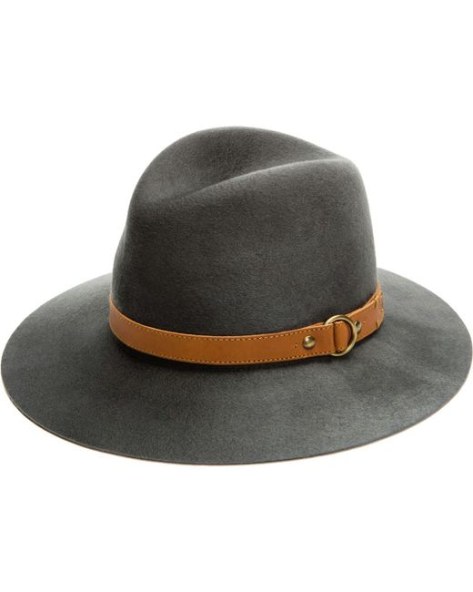 Frye - Gray Addie Hat - Lyst