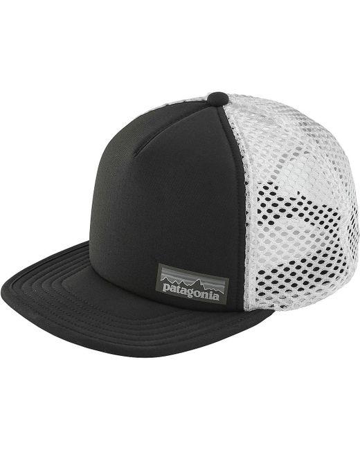 Lyst - Patagonia Duckbill Trucker Hat in Black for Men b3e464d31523