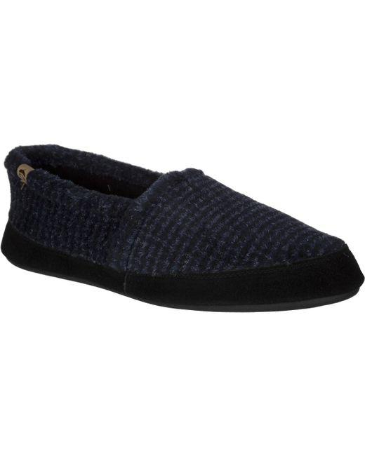 Acorn - Blue Moc Slipper for Men - Lyst