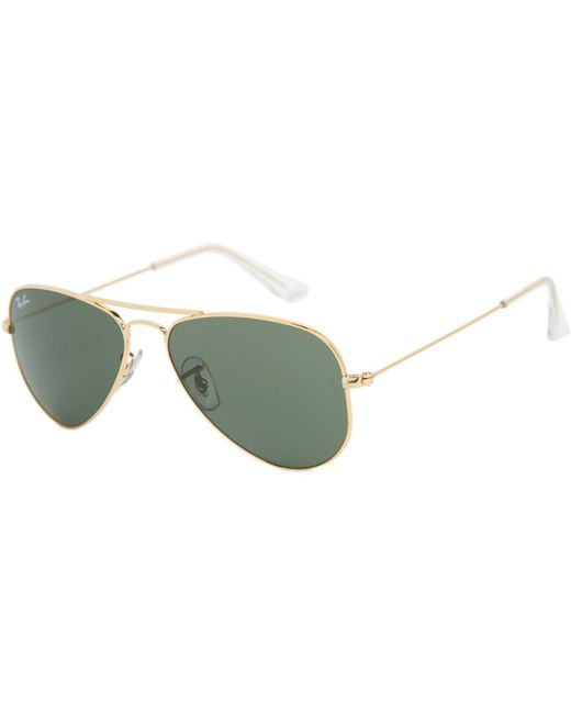 Ray-Ban - Gray Aviator Small Sunglasses for Men - Lyst
