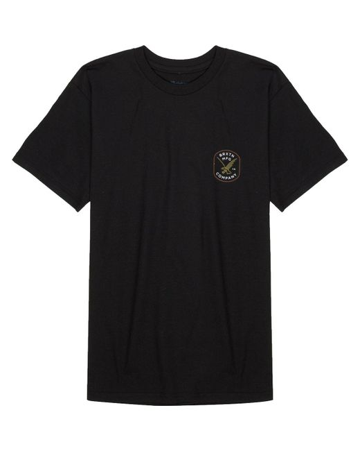 Brixton - Black Carrier T-shirt for Men - Lyst