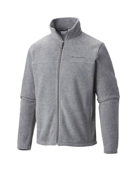 Columbia Gray Steens Mountain Full-zip 2.0 Fleece Jacket for men